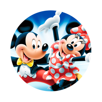 Disney Minnie&Mickey Mouse