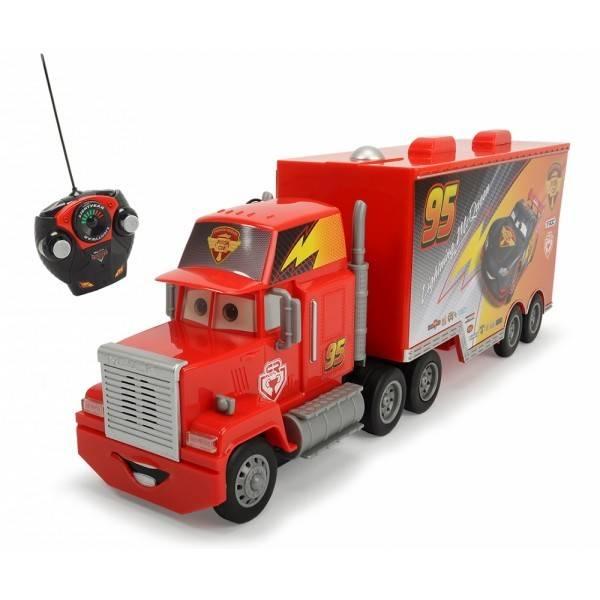 camion mack disney cars cu telecomanda carbon racer turbo. Black Bedroom Furniture Sets. Home Design Ideas