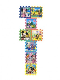 Covor camera copii puzzle din spuma Sotron Disney Minnie & Mickey Mouse 8 piese