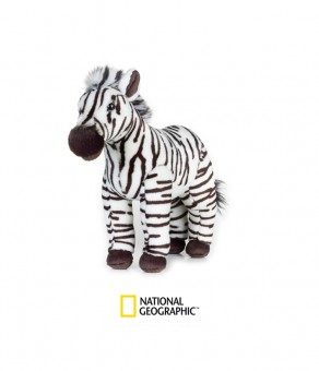 Jucarie Plus National Geographic Zebra 28 cm