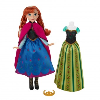 Papusa Disney Frozen Fashion - ANNA