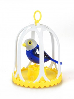 Set colivie si pasare interactiva DigiBirds Luna