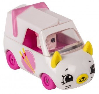 Set de joaca Mini Masinuta Shopkins Cutie Cars Zoomy Noodles