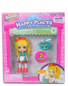 Set de joaca papusica SHOPKINS HAPPY PLACES SPAGETTI SUE
