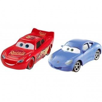 Set masinute Disney Cars 3 Fulger McQueen si Sally
