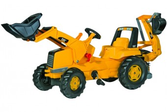 Tractor Cu Pedale Copii ROLLY TOYS 813001 Galben