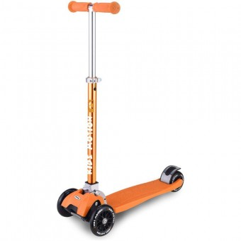 Trotineta pliabila cu 3 roti Synergy - Kidz Motion - Orange