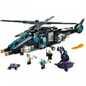LEGO-UltraCopter contra AntiMatter (70170)