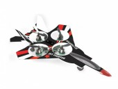 Avion Radiocomanda - Quadcopter Jet Fighter