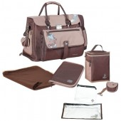 Babymoov-Geanta multifunctionala free hand brown/blue