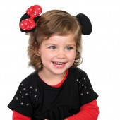 Set agrafa par cu urechi Disney  Minnie Mouse