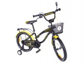 Bicicleta copii Exclusive 1805 Galben