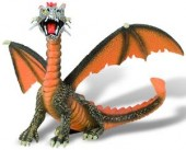 Jucarie figurina Dragon orange