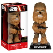 Figurina de colectie Disney Star Wars- Chewbacca Boblle Head