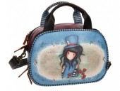 Geanta de umar Gorjuss 28 cm 3 comp. The Hatter