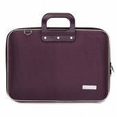 Geanta lux business laptop 15.6 in Clasic nylon Bombata-Violet