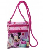 Geanta umar Disney Minnie Mouse - double zipp