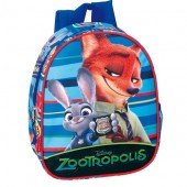 Ghiozdan gradinita Disney Zootropolis - Forest collection