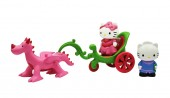 HELLO KITTY SET TRASURA CU DRAGON