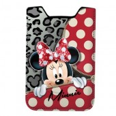 Husa telefon mobil Disney Minnie Mouse-Zipper