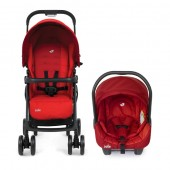 Joie – Carucior 2 in 1 Juva Red