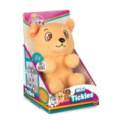 Jucarie de plus interactiva Tickles (ei se gadila) - golden