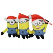Jucarie de Plus MINIONS 12 cm - Christmas Fun