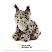 Jucarie din plus National Geographic Linx 25 cm
