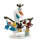 Jucarie figurina Olaf Gingerbread - Disney Olafs Frozen Adventure