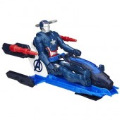 Jucarie Iron Patriot With Arc Thruster Jet Vehicle