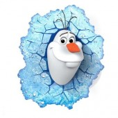 Lampa Frozen Olaf 3D Deco Light