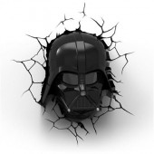 Lampa Star Wars Darth Vader 3D Deco Light With Remote