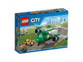 LEGO® City Airport - Avion de marfă pe aeroport 60101