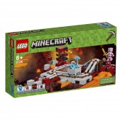LEGO® Minecraft™ Calea Ferata Nether