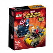 LEGO® Super Heroes Mighty Micros: Captain America contra Red Skull