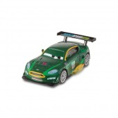 Masinuta Disney Cars 2 Nigel Gearsley cu flacari