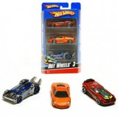 Masinute Hot Wheels Basic Car 3 Pack