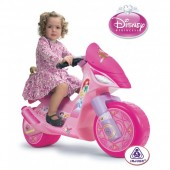 Motocicleta electrica Injusa Disney Princess 6V