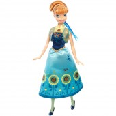 Papusa Anna SPRING - New Disney Frozen Fever 2017