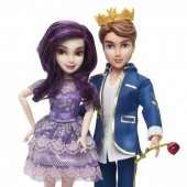 Papusa Disney Descendants - Set 2 papusi Ben si Mal