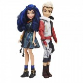 Papusa Disney Descendants - Set 2 papusi Carlos si Evie