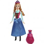 Papusa Disney Frozen Royal Color Anna