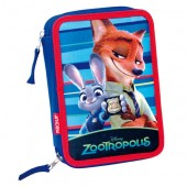 Penar dublu echipat Disney Zootropolis - Forest collection