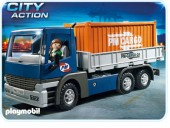 Playmobil - CAMION CU CONTAINER Transport
