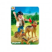 Playmobil - CIOBANESC GERMAN CU PUI Life in the City