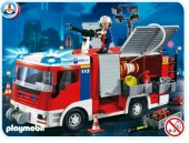 Playmobil - MASINA POMPIERILOR Fire Rescue