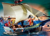 Playmobil - NAVA DE LUPTA A SOLDATILOR Pirates