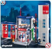 Playmobil - POST DE POMPIERI Fire Rescue