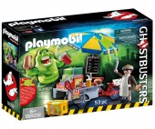 Playmobil - Slimmer si stand de hot dog
