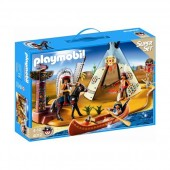 Playmobil - Superset tabara amerindienilor